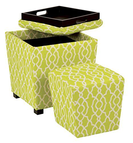 Prime Lime Green Storage Ottoman For Your Living Room And Bedroom Uwap Interior Chair Design Uwaporg