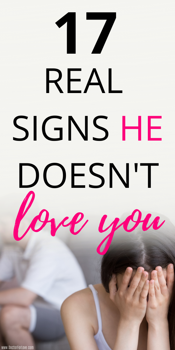 17 Signs He Doesnt Love You Anymore | Message to your