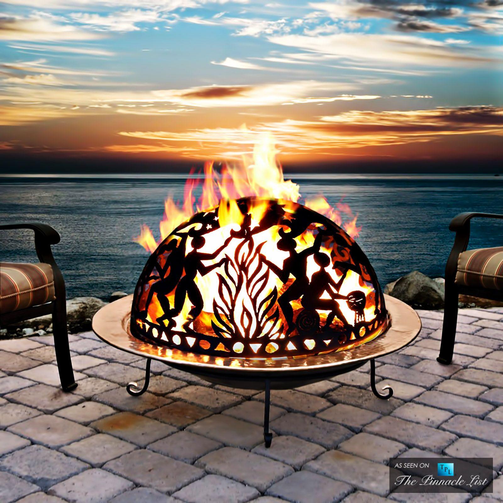 Outdoor Fire Pit Fire pits Pinterest
