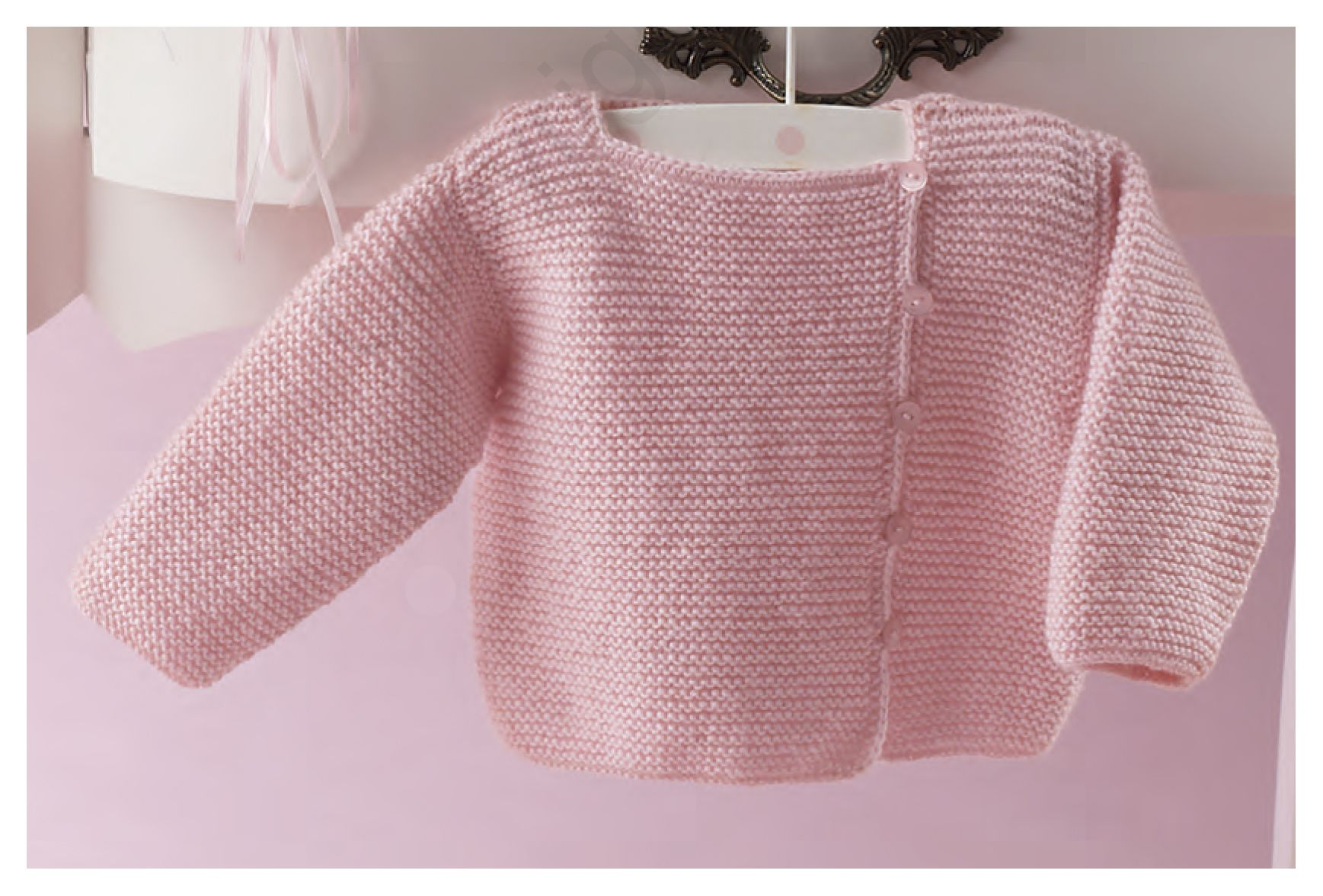 Jersey bebé lana Katia, patrón gratis | Ropa De Bebes | Pinterest ...
