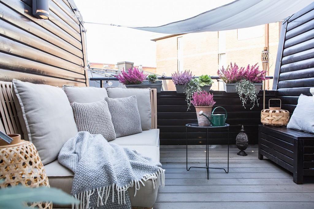 Estilo Nórdico En El Dormitorio Decoración De Terraza