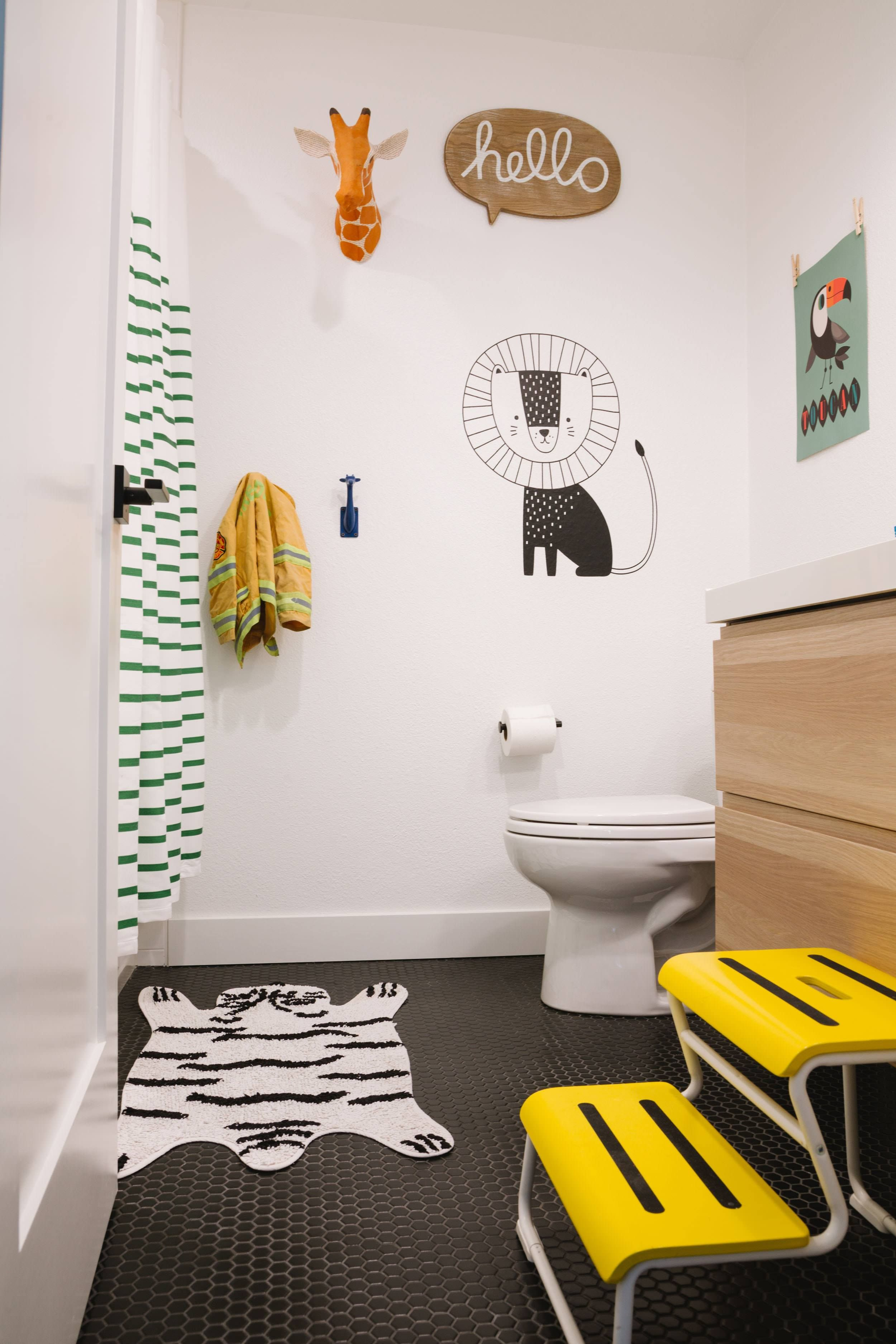 outstanding modern kids bathroom ideas | House Tour: A Mid-Century Modern Inspired Home + Get The ...