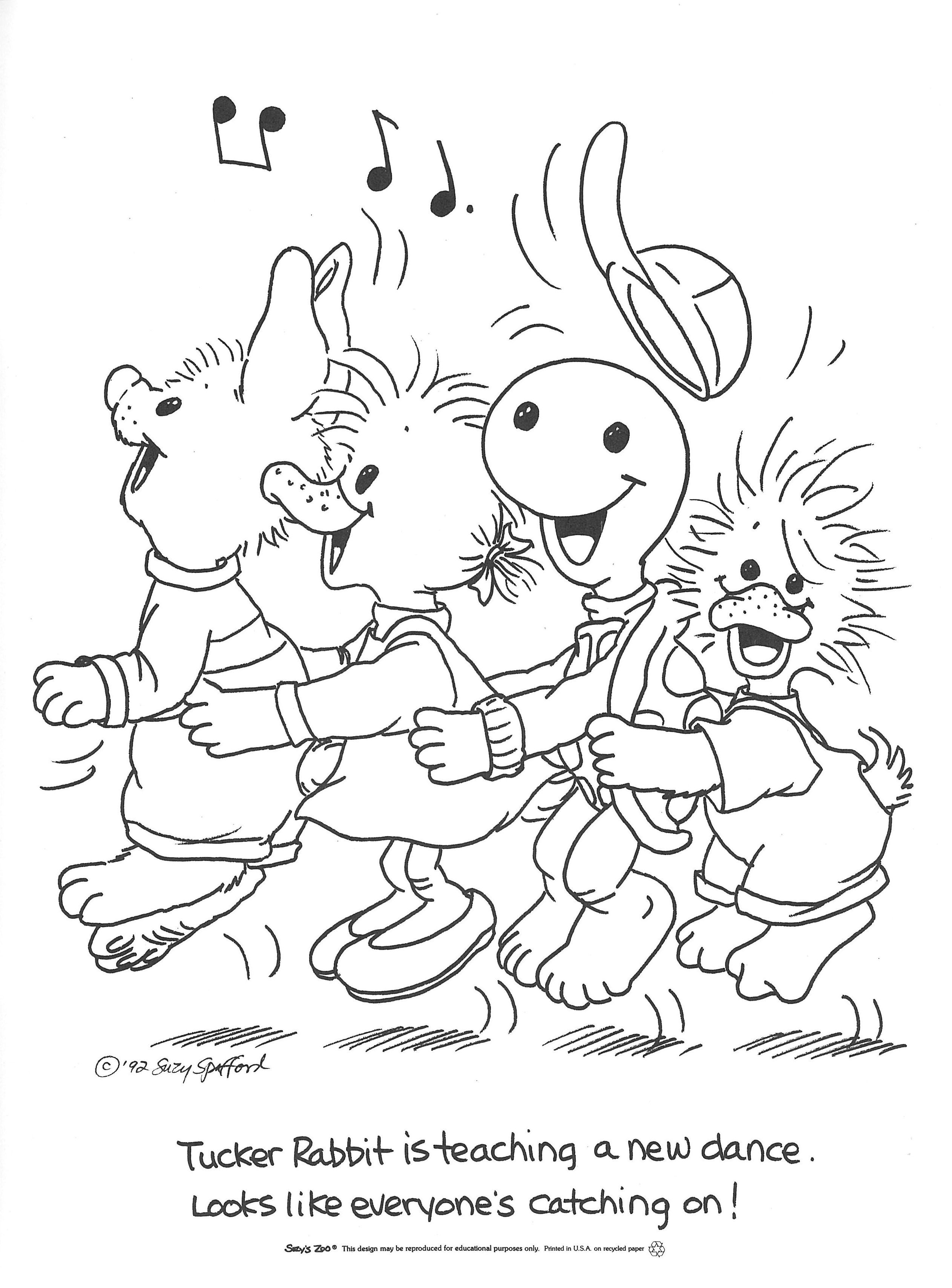 43 Best Zoo Coloring Pages to Print - VoteForVerde.com | Suzy\'s zoo ...