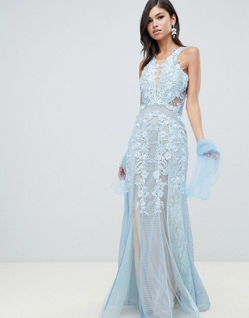 shop for wide selection of colours and designs best service Forever Unique lace maxi dress in 2019 | ENGAGEMENT DRESSES ...