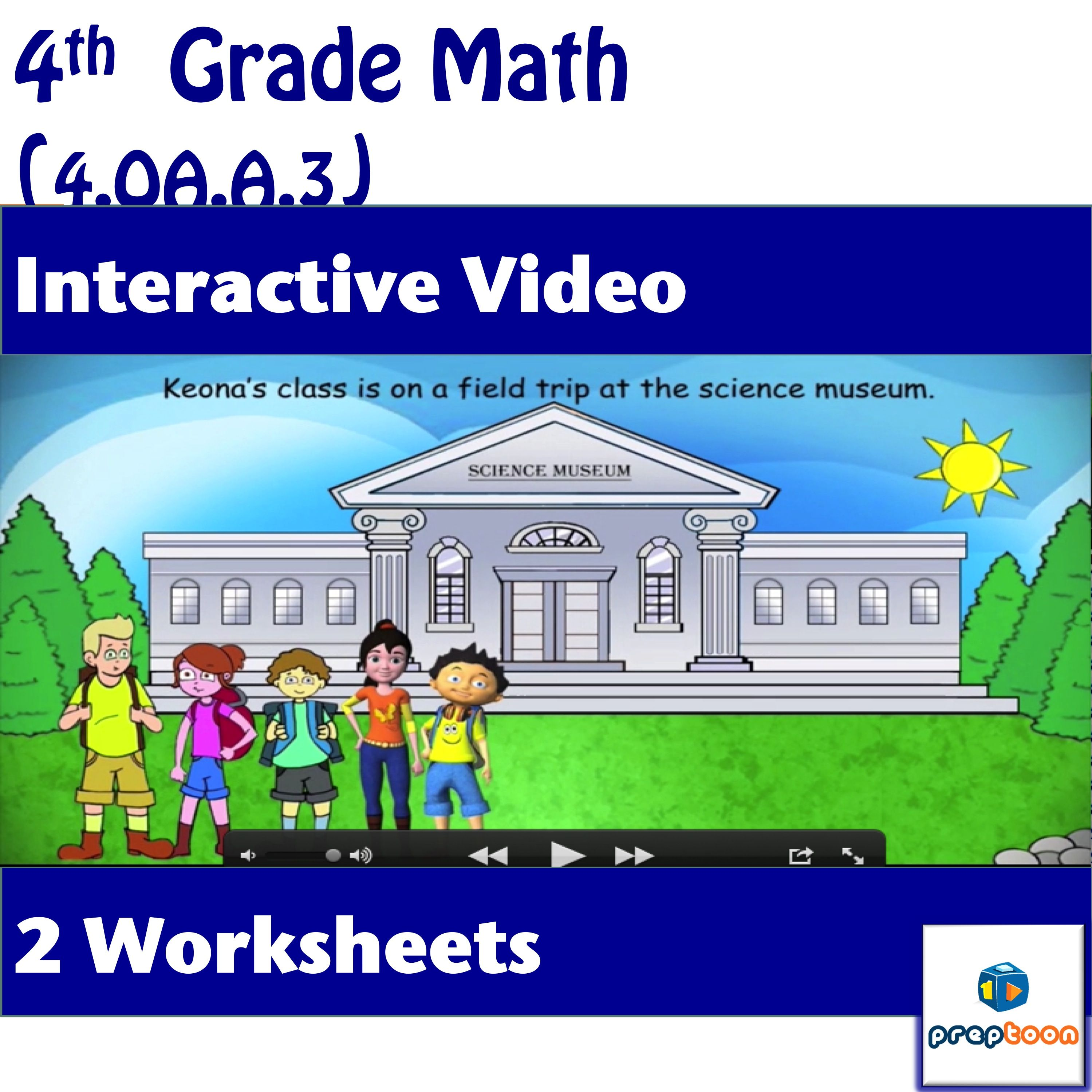 Common Core Math Activity Operations On Whole Numbers 4 Oa