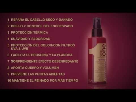 Mascarilla en spray Uniq One Revlon sin aclarado - YouTube