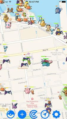 Map for Pokemon Go APK v1.0.4 Download Pokemon go
