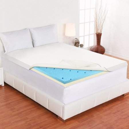 Wayton Mattress Gel Infused 2 Inch High Density Foam Mattress
