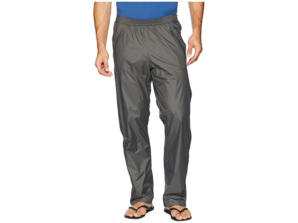 Marmot Precip Full Zip Pant Slate Grey Mens Clothing The Marmot Precip Full Zip Pant is a lightweight and easily packable pant thatll let you stay dry and comfortable on...