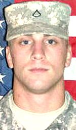 Army SPC Nicholas A. Taylor, 20, of Berne, Indiana. Died July 16, 2012, serving during Operation Enduring Freedom. Assigned to Troop Command, Indiana Army National Guard, Indianapolis, Indiana. Died of injuries sustained when his vehicle was struck by enemy rocket propelled grenades in Wali Kot District, Afghanistan.