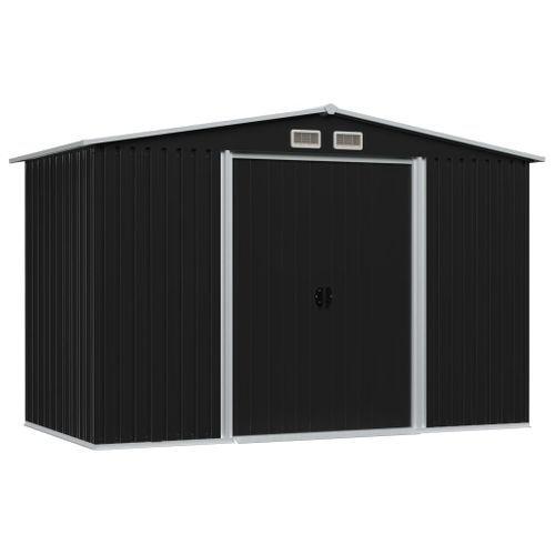 Vidaxl Garden House Metal Anthracite 257x205cm