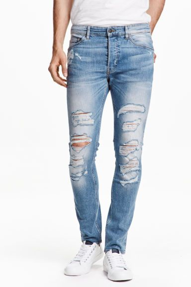 Skinny Low Trashed Jeans | H&M