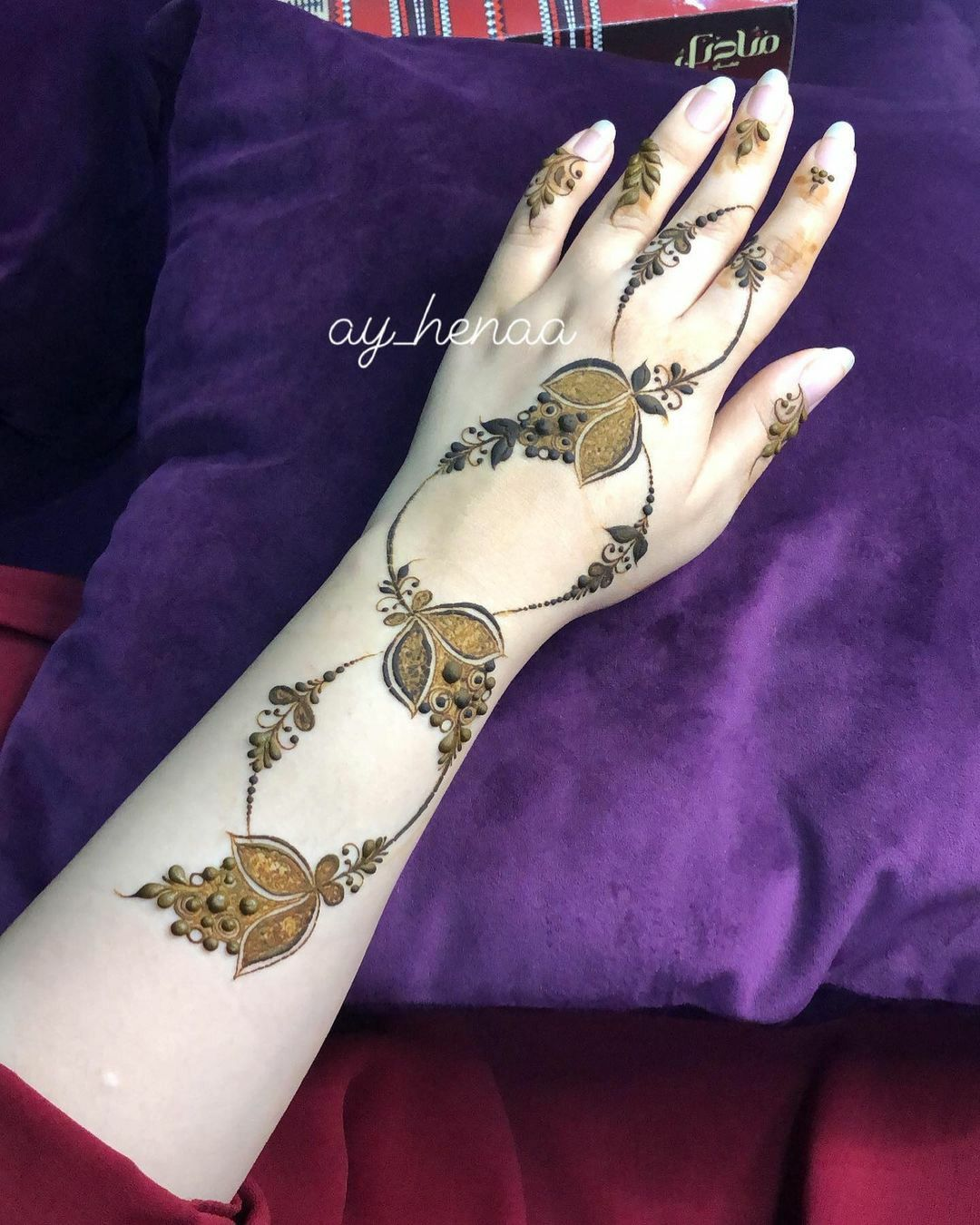 Pin By Manal M On Henna Hand Henna Henna Hand Tattoo Henna