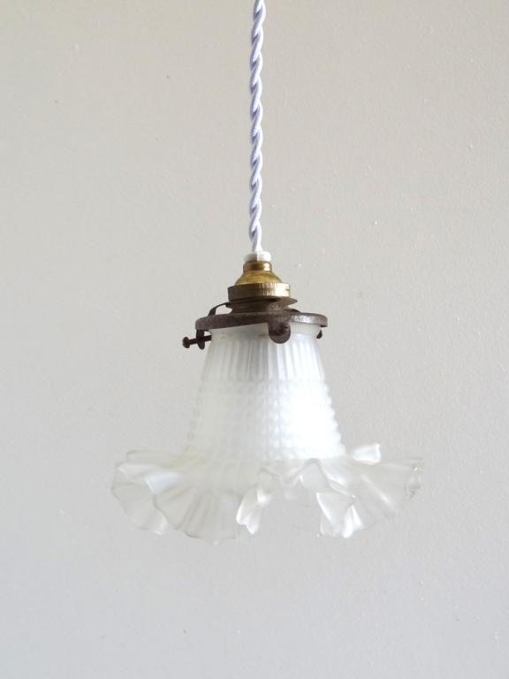 eclairage lampes ancien lampe tulipe