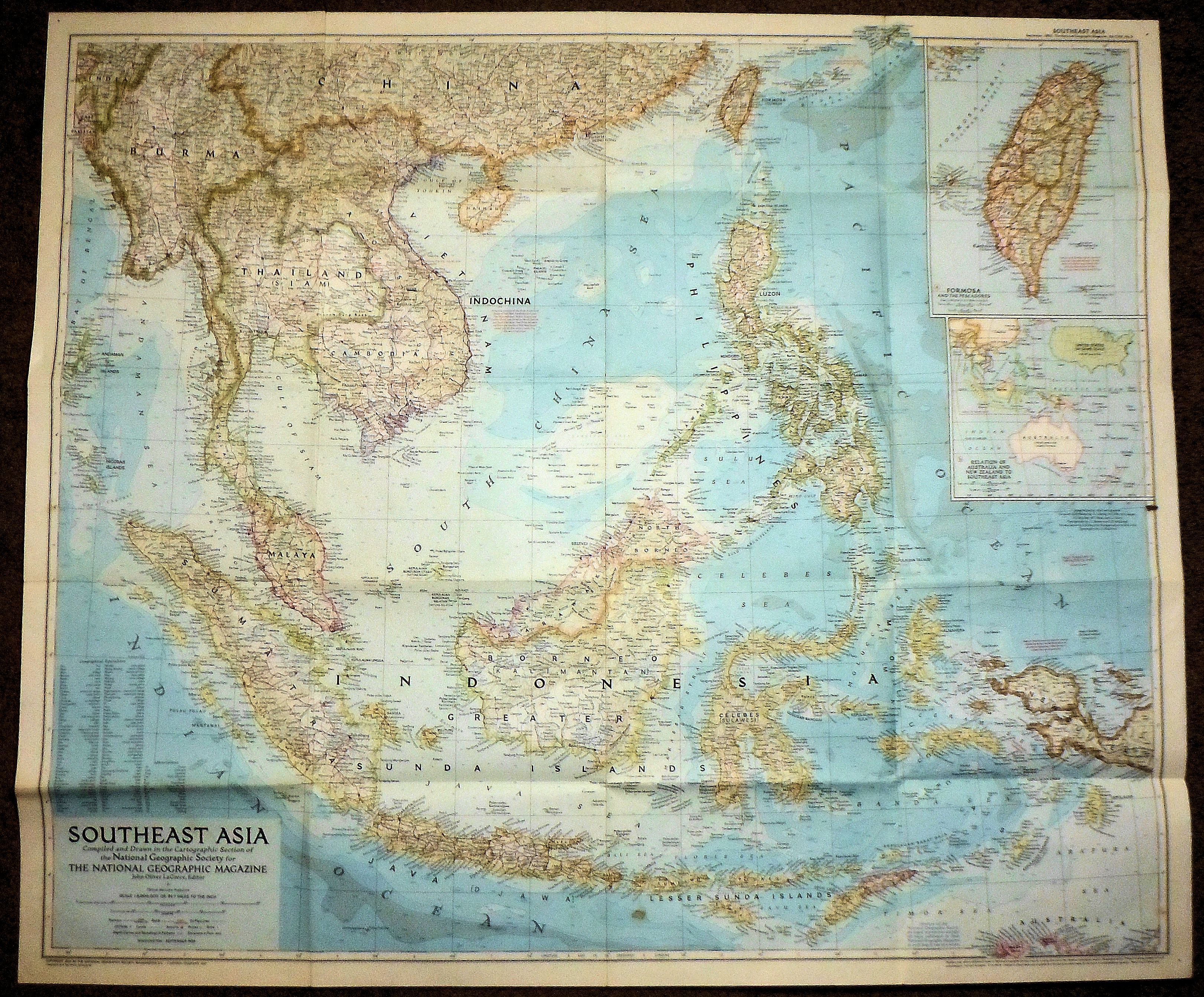 Middle East Map National Geographic%0A Geographic Southeast Asia