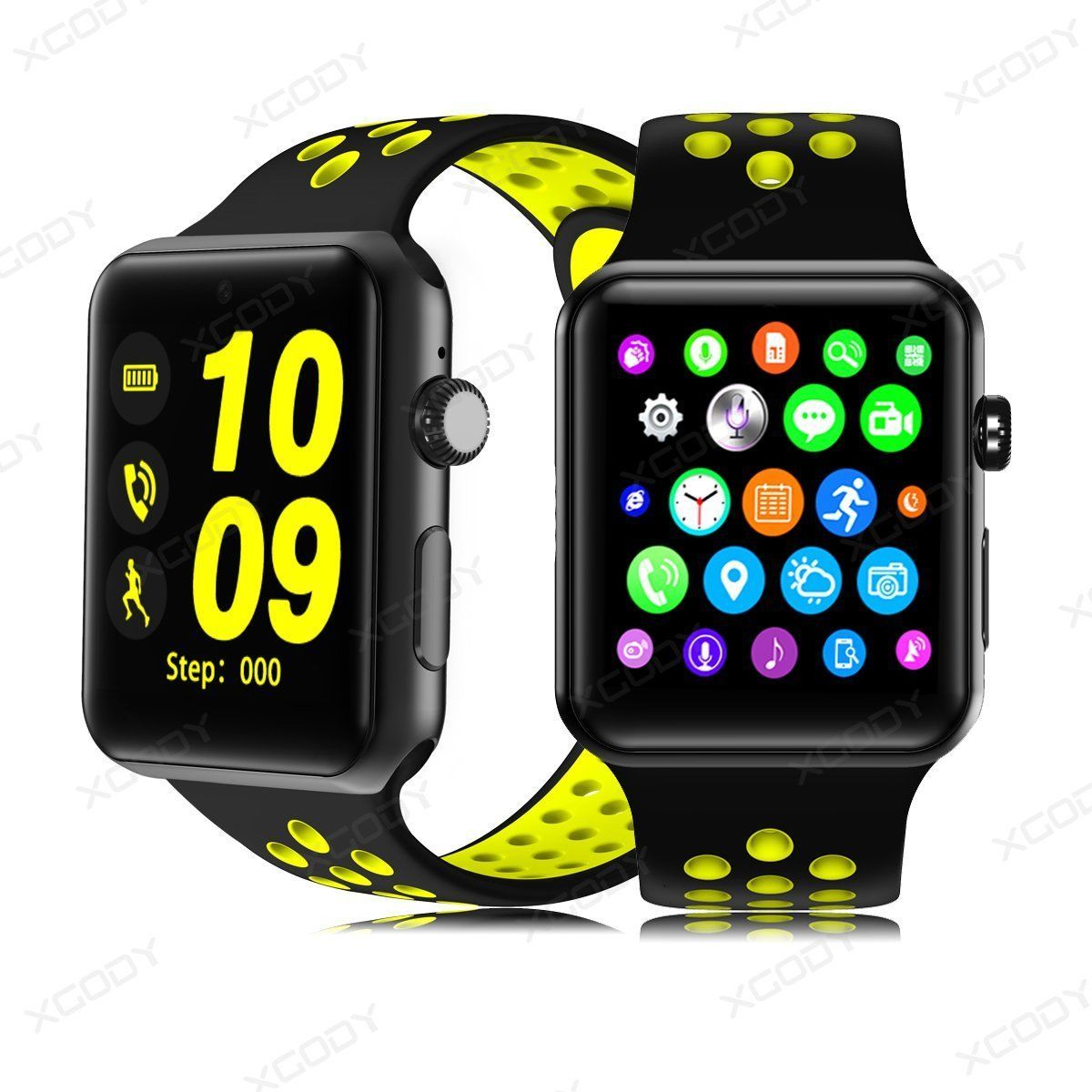 XGODY XW10 Bluetooth Smart Watch Phone Mate SIM GSM For Android IPhone Samsung