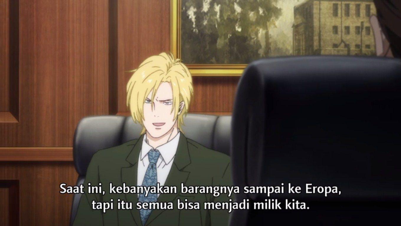 Banana Fish Episode 19 Subtitle Indonesia Eropa