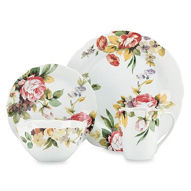 Buy Kathy Ireland Home® by Gorham Georgian Estate 4-Piece Dinnerware Place Setting from  sc 1 st  Pinterest & Buy Kathy Ireland Home® by Gorham Georgian Estate 4-Piece Dinnerware ...