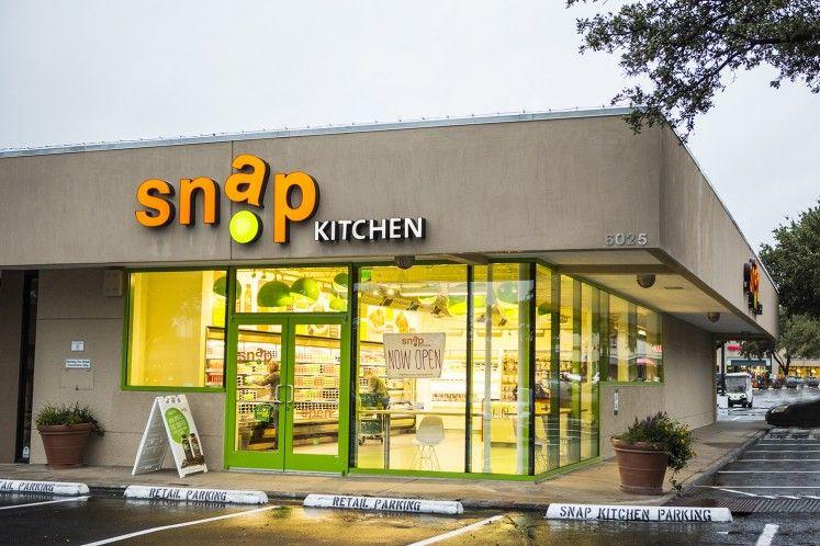 Snap Kitchen Is Open In Preston Royal Village Restaurant