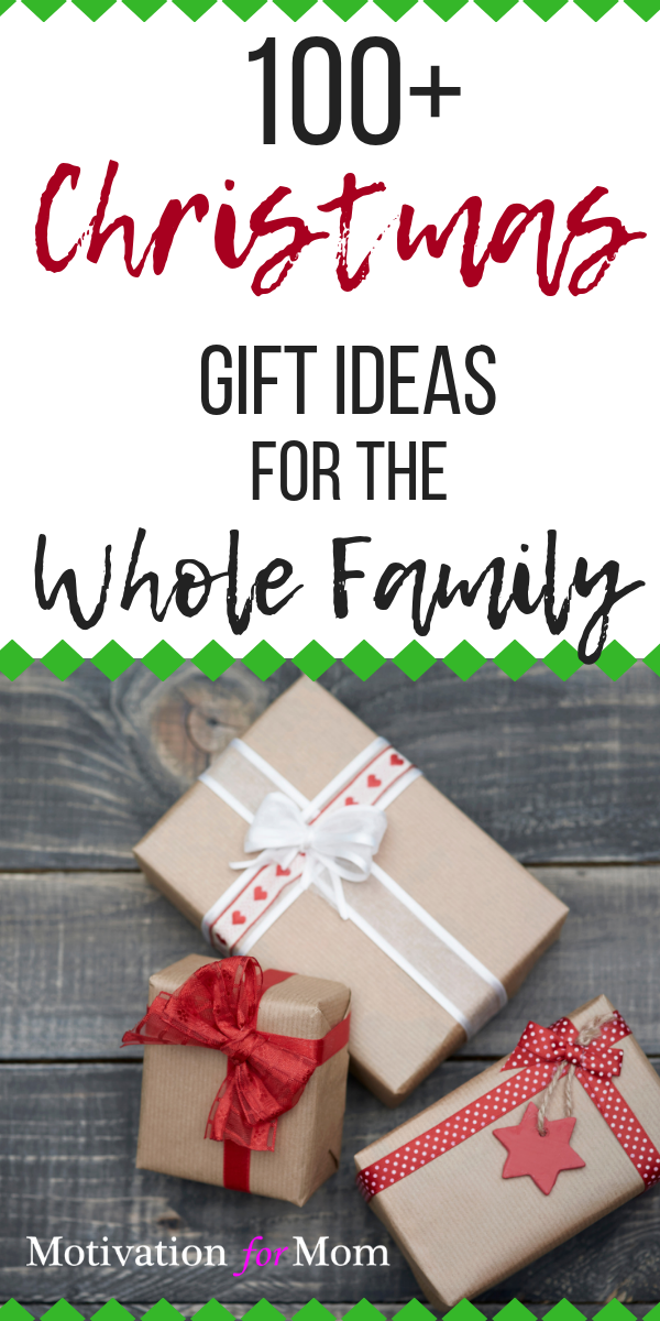 This list of Christmas gift ideas is great for the whole family. Whether  you're looking for gifts for kids, husbands, grandparents, teenagers or  babies, ... - 100+ Christmas Gift Ideas For The Whole Family Christmas