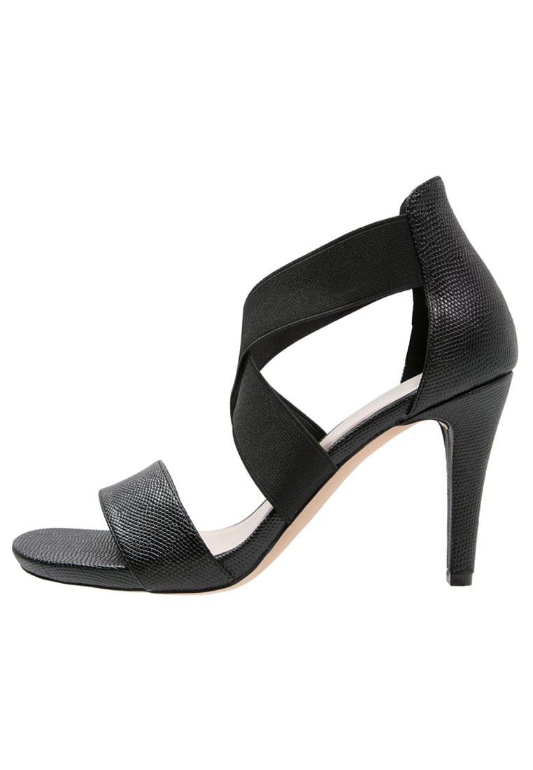 Romeinse sandalen Anna Field Sandalen met hoge hak - black Zwart: € 39,95