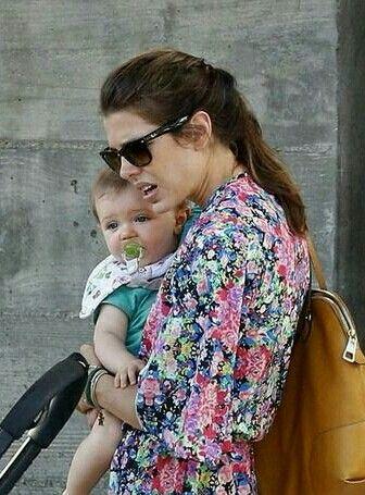 Charlotte casiraghi Monaco avec son fils Raphaël
