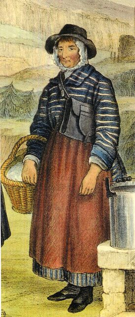 FolkCostume: Costume of Ynys Mon, or Anglesey, and North Cymru or Wales