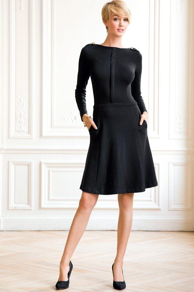 La redoute robe noire laura clement