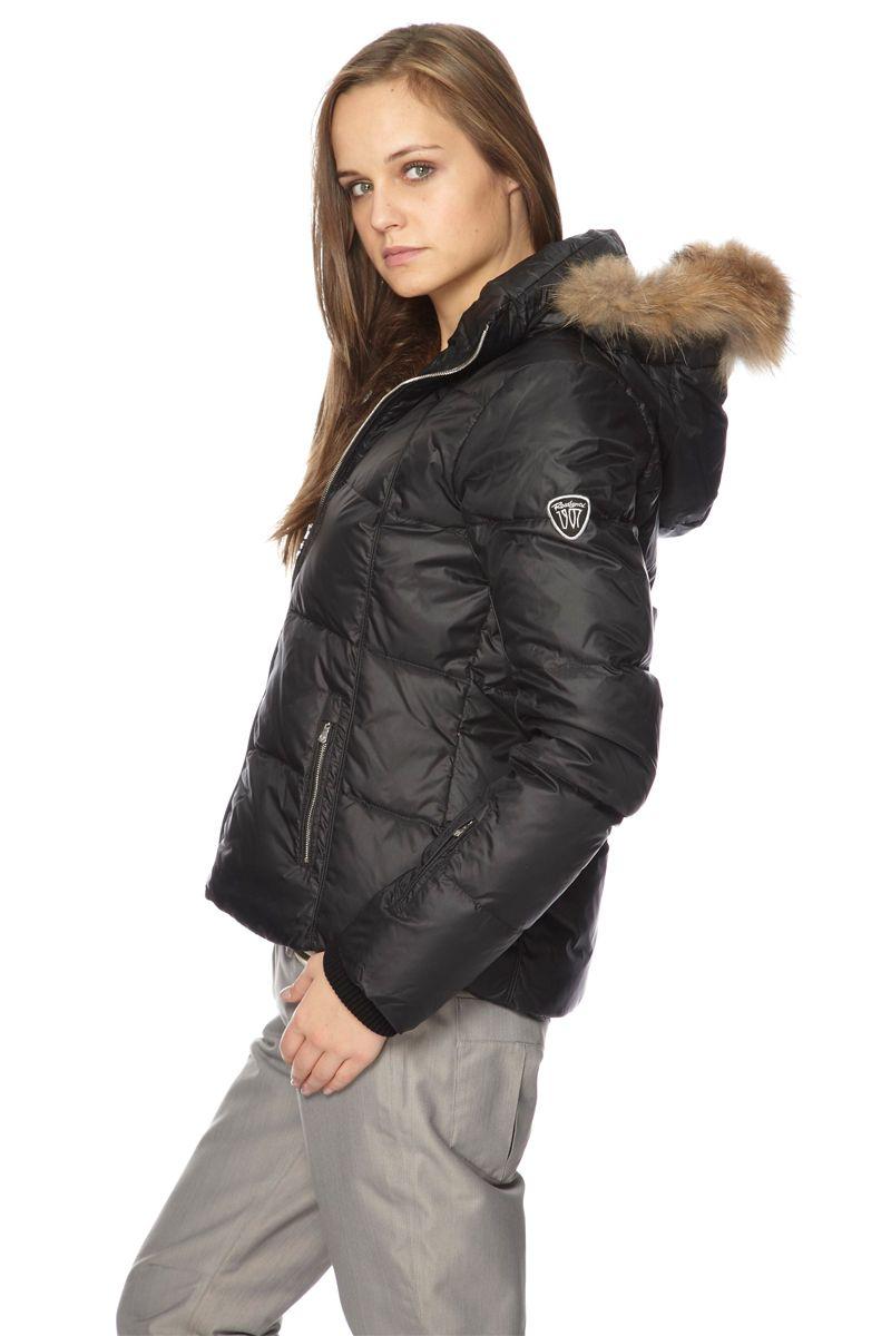 8161 Doudoune De Ski Noir Blousons Rossignol Vente Femme axqwOf88