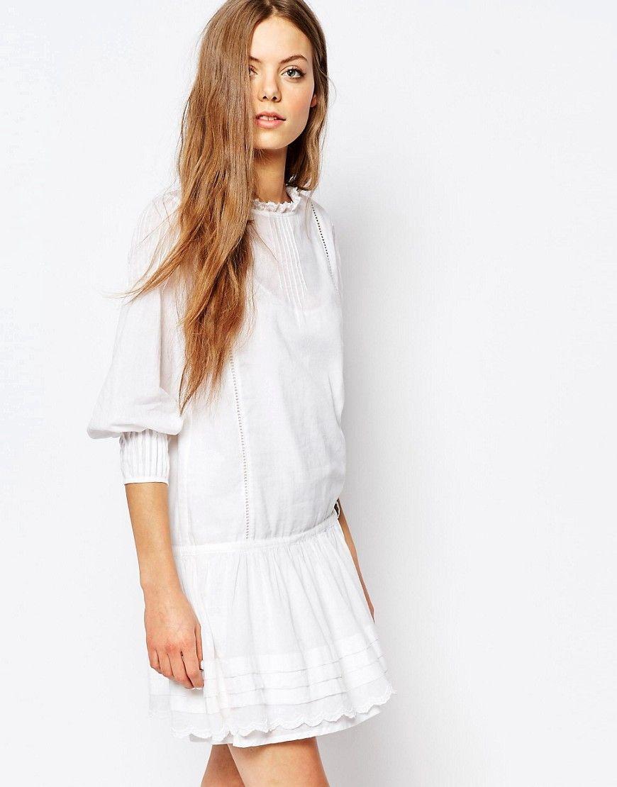 Robe blanche athe vanessa bruno