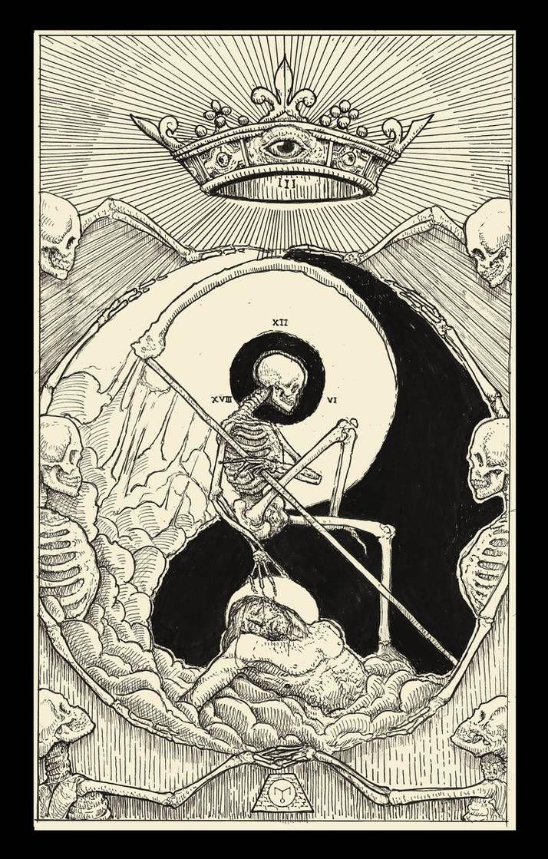 Death Tarot Card By Erikemiranda On Deviantart Tarot Cards Art Tarot Card Tattoo Tarot Cards