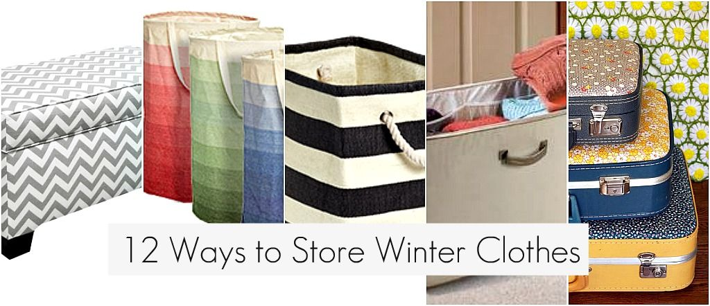12 ways to store winter clothes