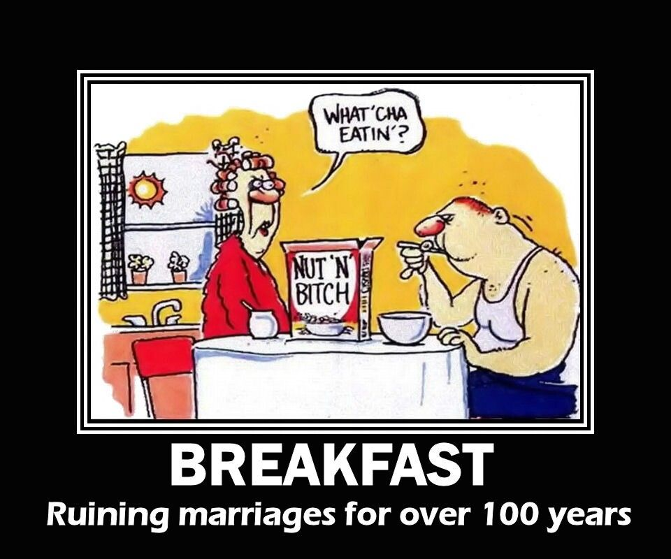 New Breakfast Cereal Nut N Bitch Funny Pinterest Cartoon