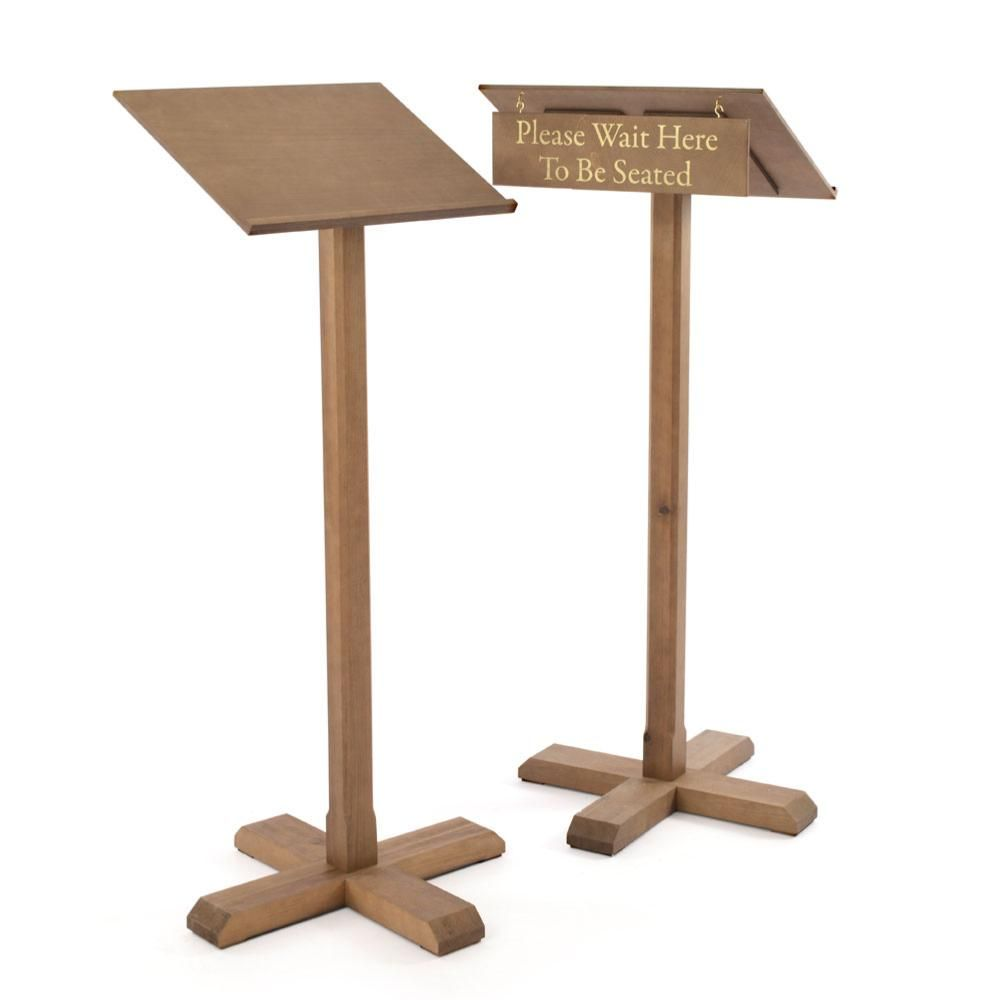 Wooden Menu Lectern In 2019 가계 인테리어 Menu Wood Menu Frame