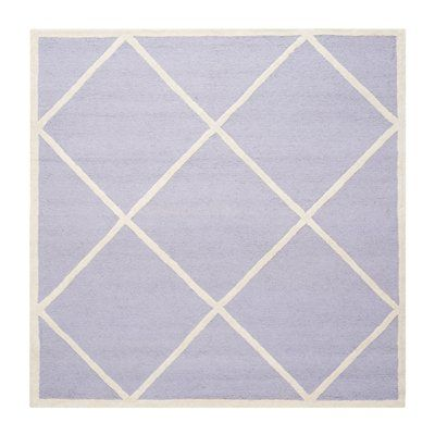 Safavieh CAM136C-6 Cambridge Area Rug, Lavander / Ivory