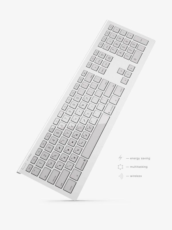 E-inkey Keyboard – minimalistic design conception | design conception . Design Konzept . conception dessin | Design: Maxim Mezentsev & Aleksander Suhih |
