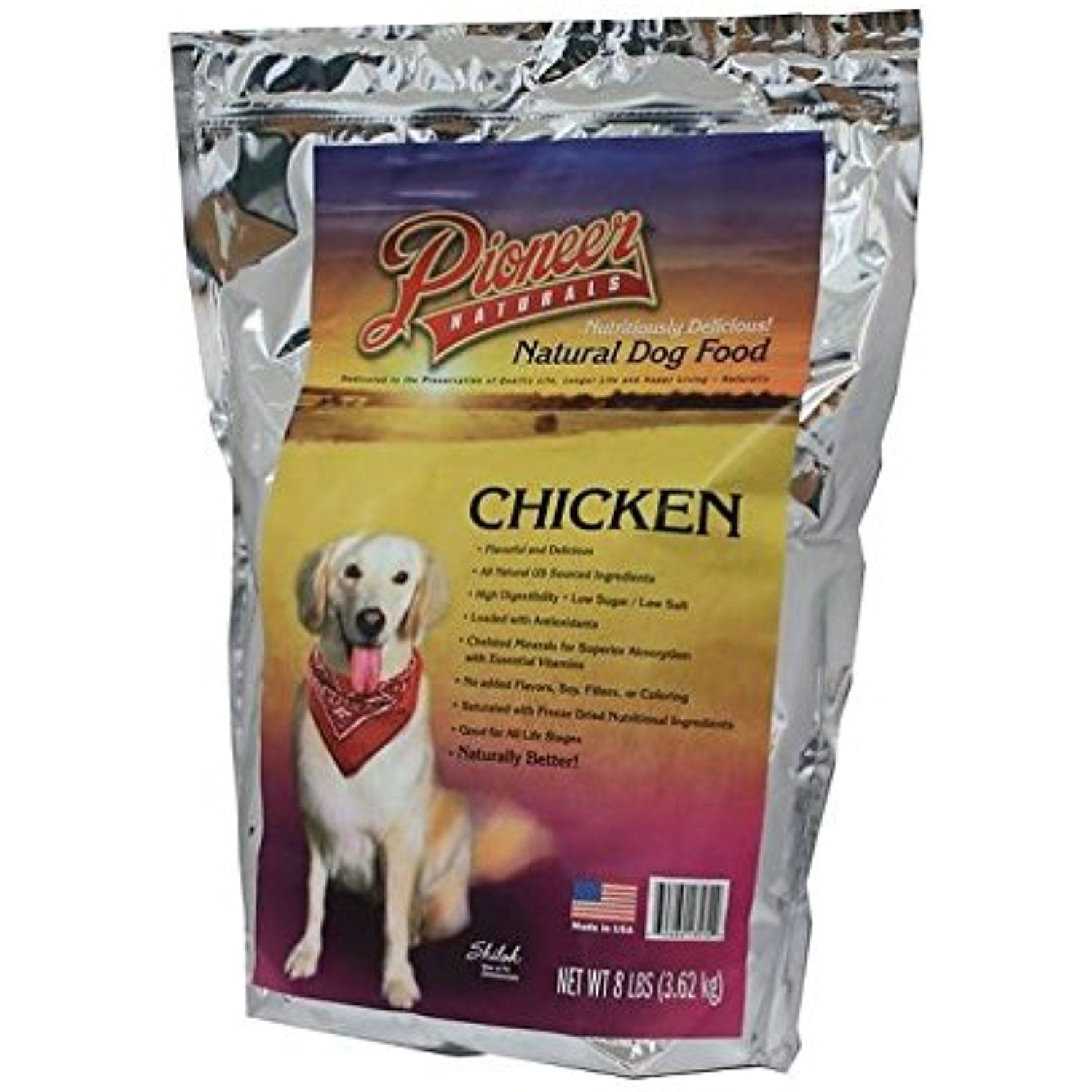 Great Life Pioneer Chicken Freeze Dried Dog Food, 8 lb