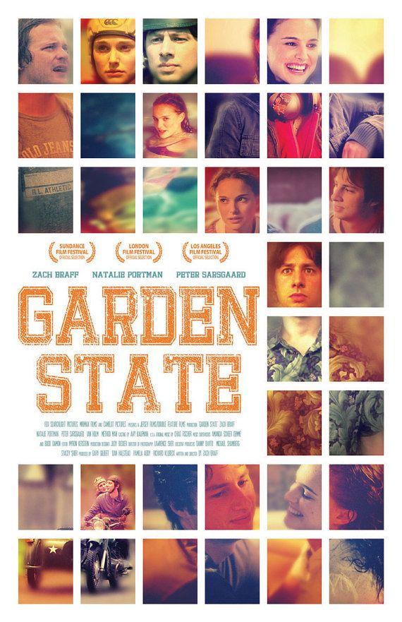 Garden State Film Poster by sap41387 on Etsy, $1500 {film} Garden