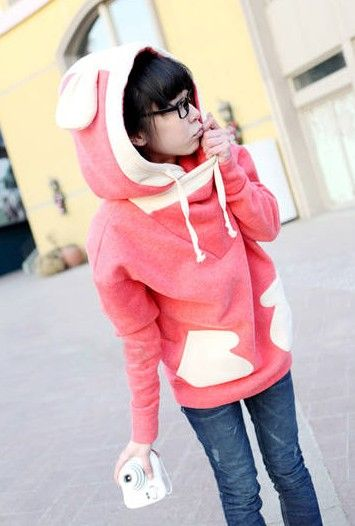 Kawaii Clothing | Sudadera Conejo / Rabbit Hoodie 2WH130 | Online Store Powered by Storenvy