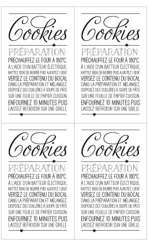 Plate gifts: preparation for cookies