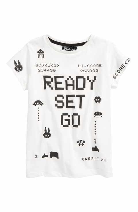 Boys' T-Shirts (2T-7): Henley, Crewneck & Long Sleeve