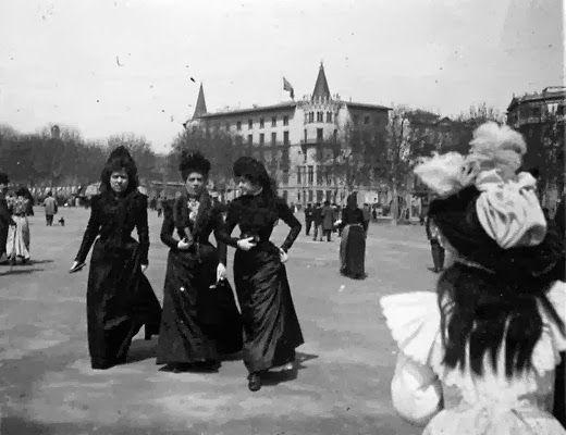 BARCELONA, AHORA Y SIEMPRE: LA BARCELONA DE 1900