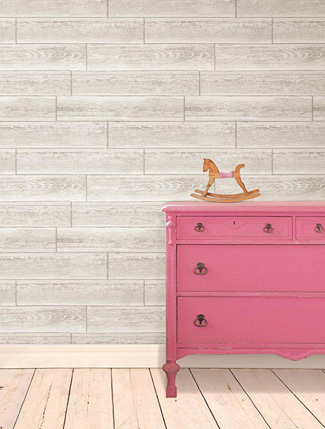NuWallpaper NU1930 Serene Cream Peel and Stick Wallpaper