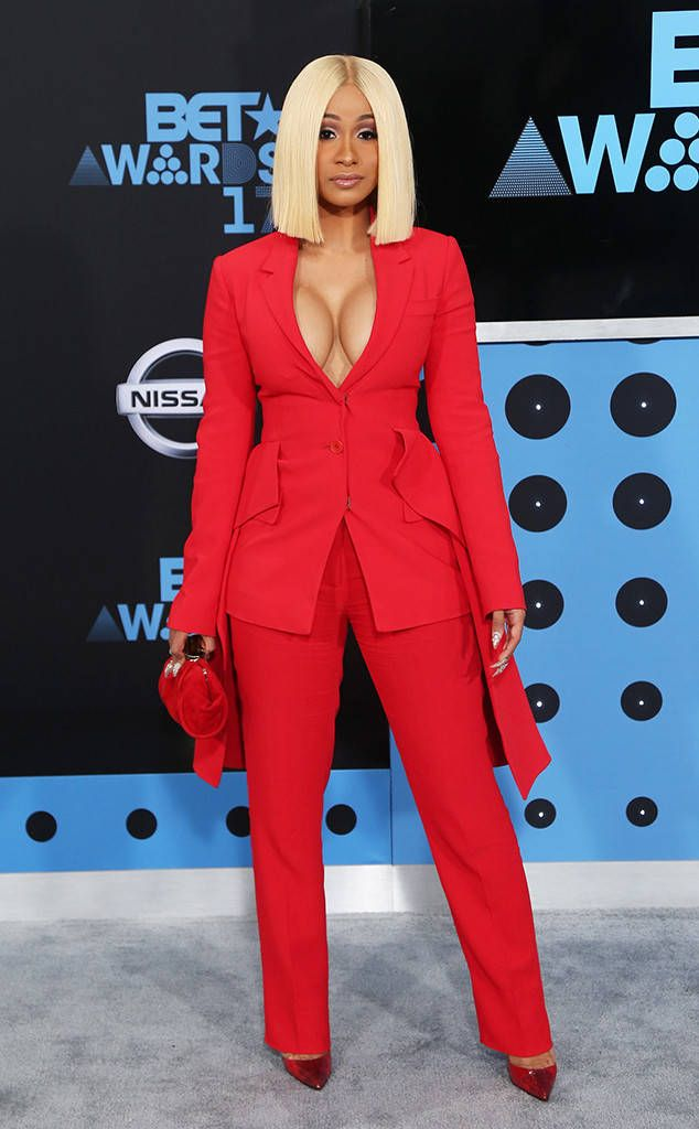 Cardi B from BET Awards 2017 Red Carpet