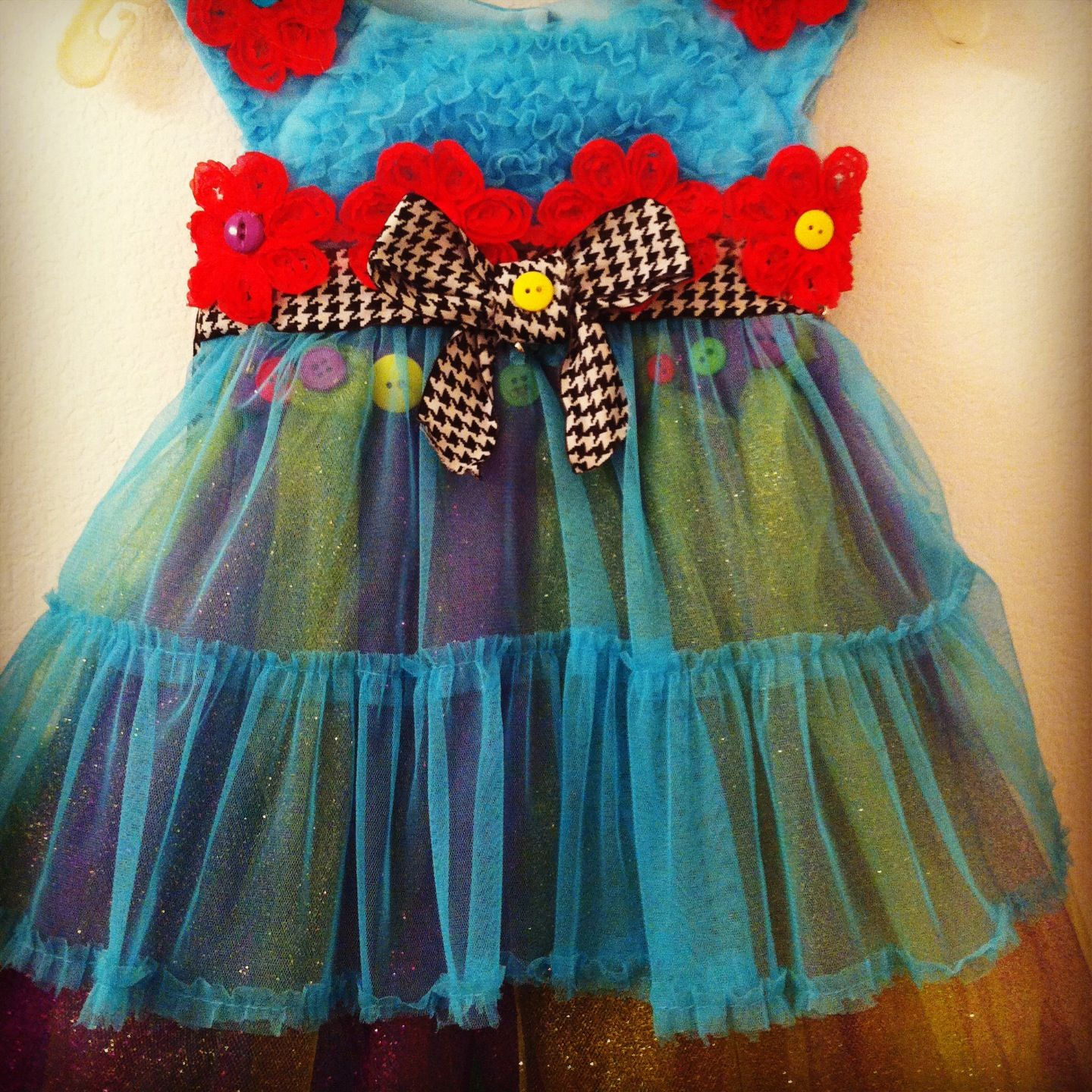 Lalaloopsy custom birthday dress I made my daughter for her fourth ...