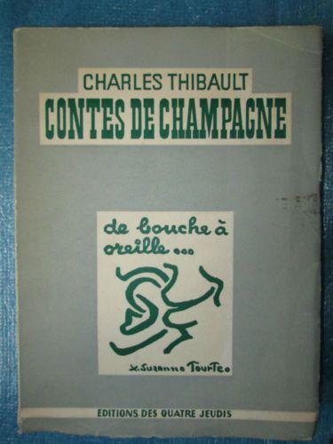 CONTES DE CHAMPAGNE-Charles-THIBAULT