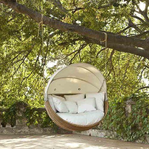 Garten-Hollywood-Schaukel / Aluminium ARMADILLO POINT   garden in ...