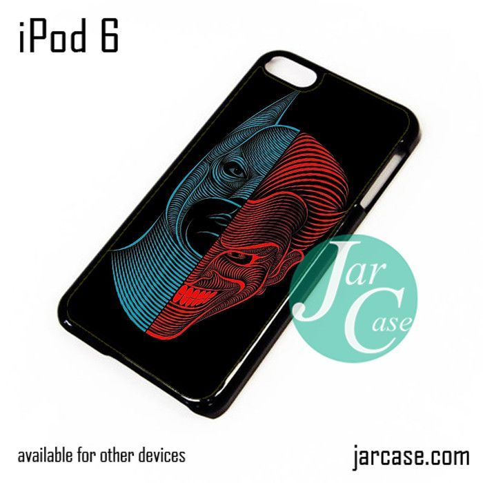 Batman And Joker Abstract iPod Case For iPod 5 and iPod 6