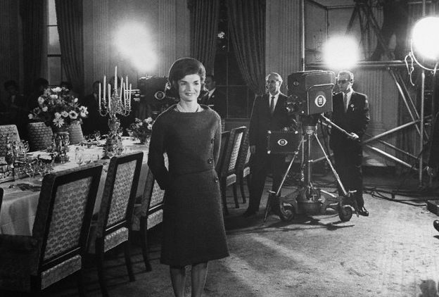 First Lady Jackie Kennedy Gives Television Viewers An Inside Look At The White House Talking About Various Rooms And Renovations Do