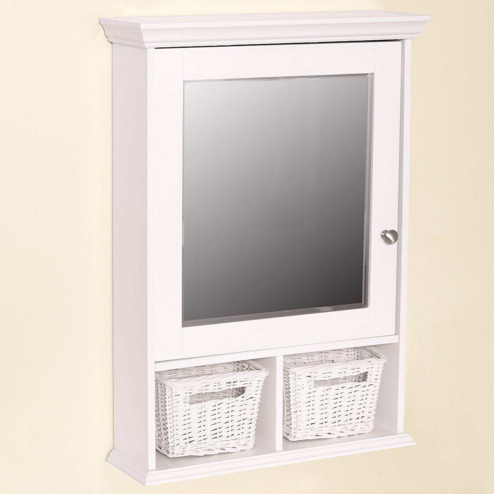 White Mirrored Medicine Cabinet | RevolutionHR